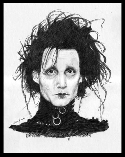 Johnny Depp by Enola